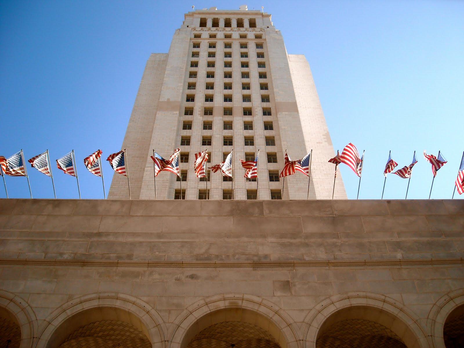 Los Angeles City Hall Los Angeles Love Affair